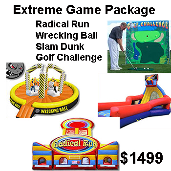 Extreme Interactive Game Party Package - Thrill Zone Entertainment