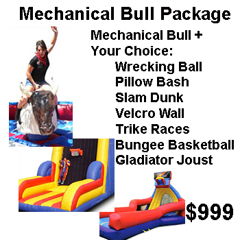 Mechanical Bull Package - Thrill Zone Entertainment