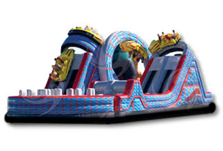 Wild One Obstacle Course - Thrill Zone Entertainment