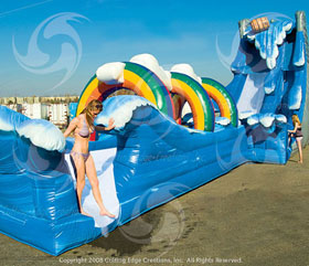 Inflatable Waterslide Rentals Sonoma County Giant