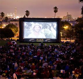 Outdoor Movie Screen Rentals North Bay Area Inflatable